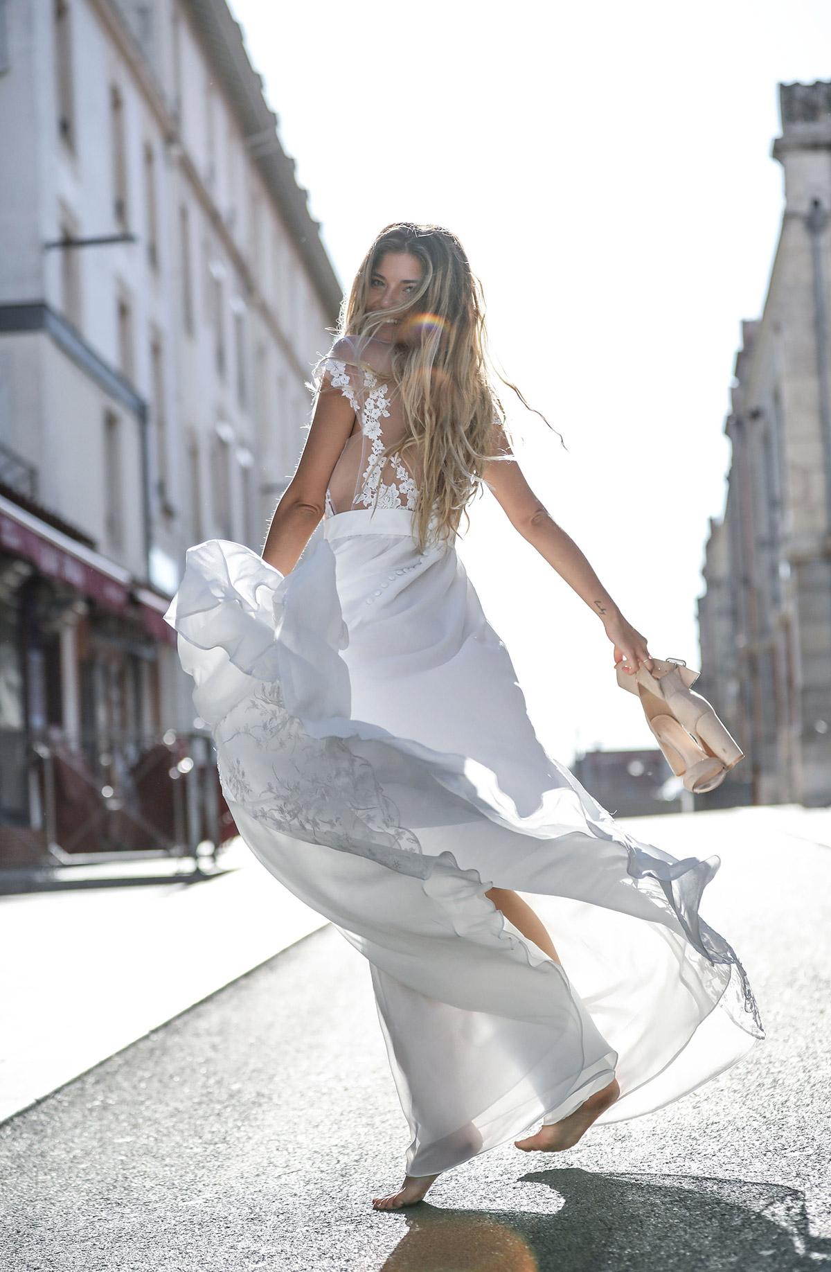 collection 2020 / robe de mariée Adélaïde à Castres - Bayonne