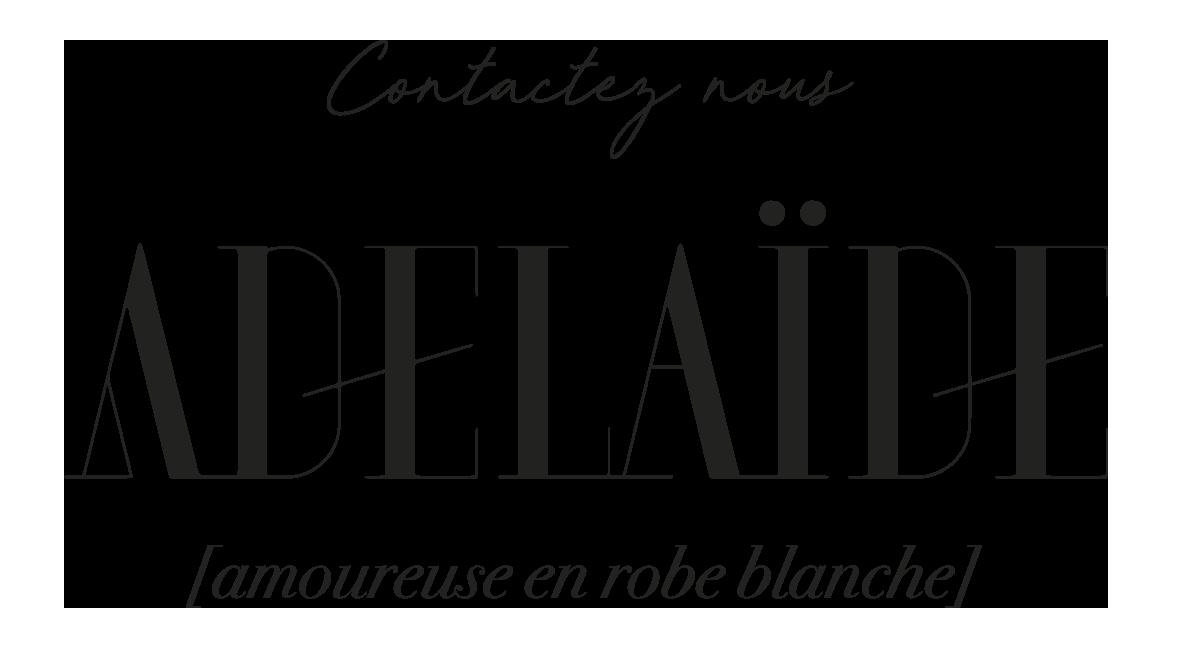 Logotype Adélaïde - Contactez nous