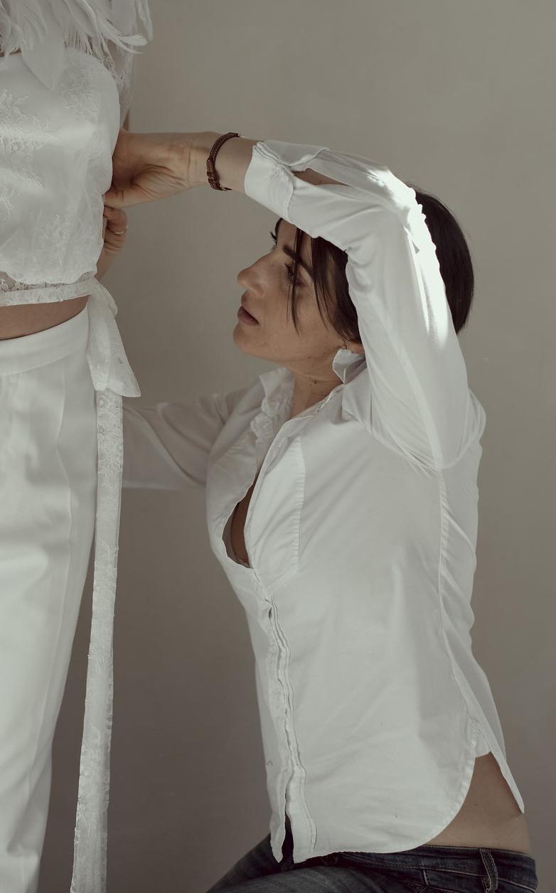 Marie Salitot créatrice de robe de mariée à Castres et Bayonne